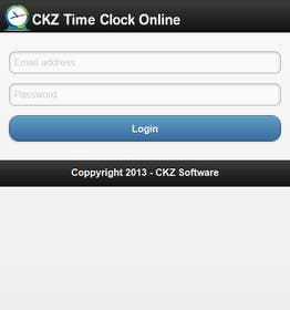 #11 for Create mobile version of CKZ Time Clock Online by codeunderground