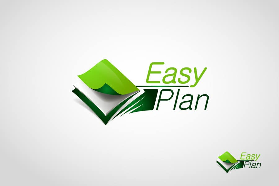 #354 for Design a Logo for EasyPlan - a digital workbook on the go by mdimitris