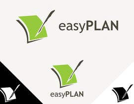 #310 untuk Design a Logo for EasyPlan - a digital workbook on the go oleh desi6n9raph