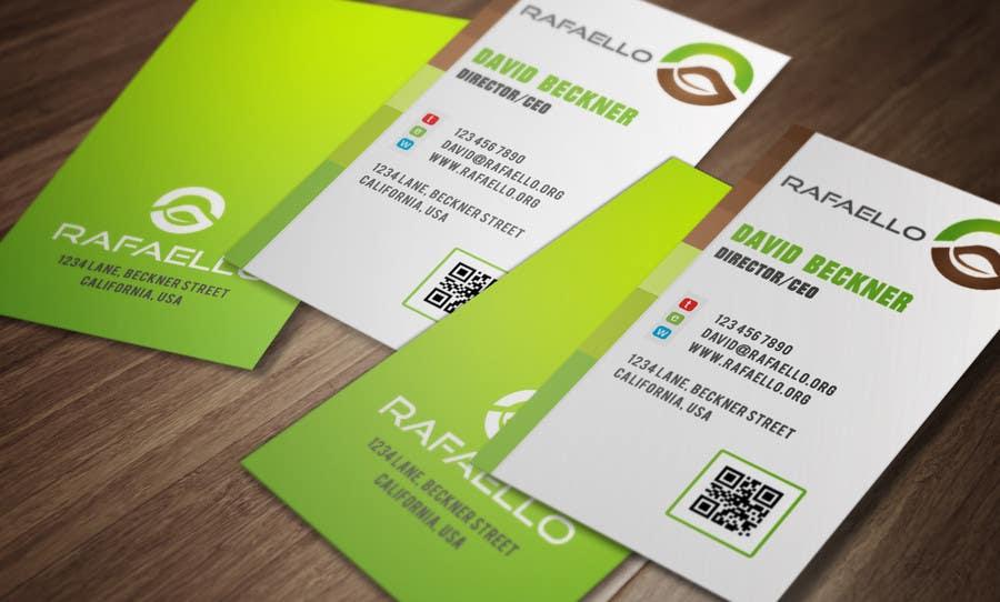 """Inscrição nº 11 do Concurso para Design Business Cards and Letterhead for Company """"Rafaello"""""""