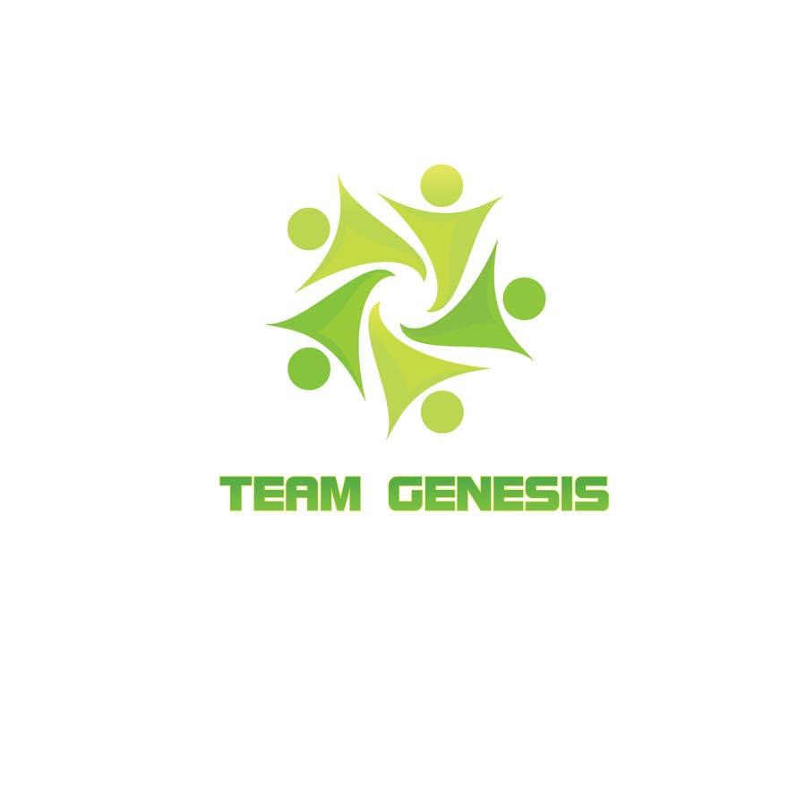 Penyertaan Peraduan #33 untuk Design a Logo for Team Genesis