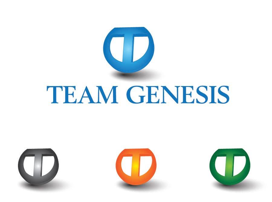 Penyertaan Peraduan #1 untuk Design a Logo for Team Genesis
