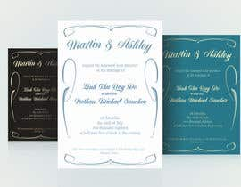 #46 para Wedding invitations por Odaisu