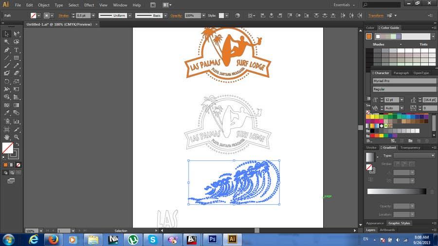 Inscrição nº 20 do Concurso para Design a Logo for my Surf Company