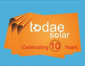 #35 for Develop 10th Birthday Concept for Solar Company af TATHAE