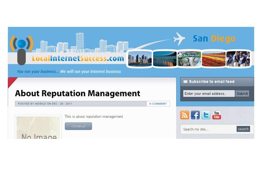 Конкурсная заявка №125 для Graphic Design for Local Internet Success.com