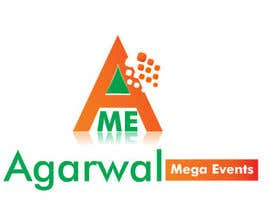 #28 para Design a Logo for Agarwal Mega Events por bilaye20