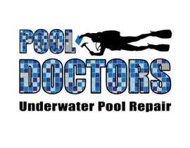 #22 untuk Design a Logo for an Underwater Swimming Pool Repair Business oleh LucaMolteni