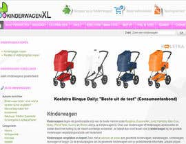 #1 untuk Design a background image for a stroller comparison site oleh sykov