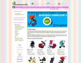 nº 9 pour Design a background image for a stroller comparison site par RoxanaFR