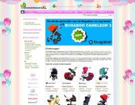 nº 10 pour Design a background image for a stroller comparison site par RoxanaFR