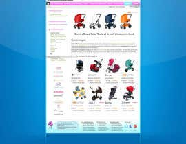#49 for Design a background image for a stroller comparison site af nextstep789123