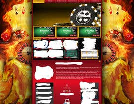 #29 para Background for casino website por Wbprofessional