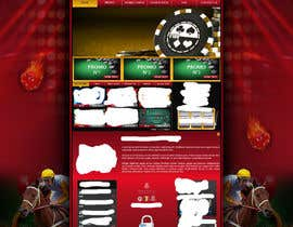 #33 para Background for casino website por Wbprofessional