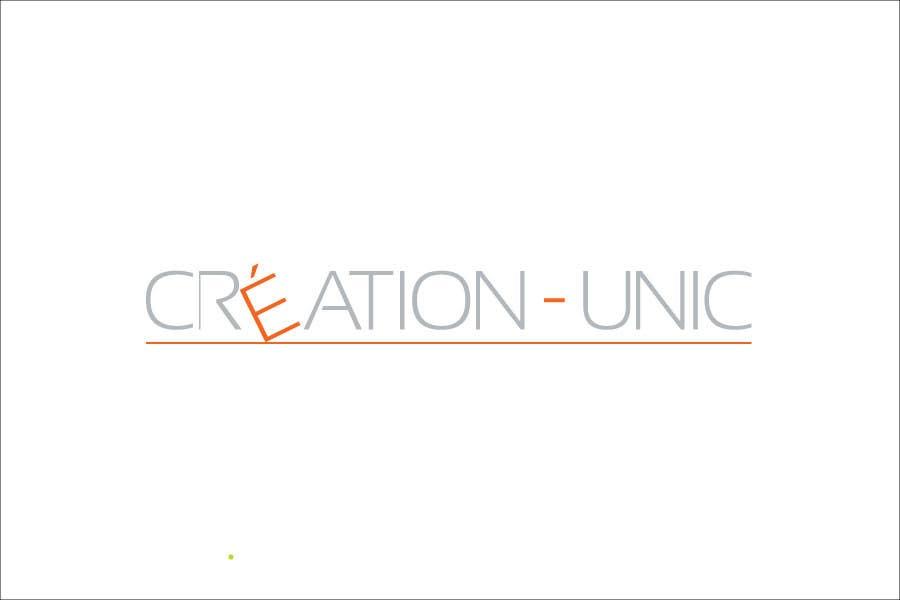 Inscrição nº                                         5                                      do Concurso para                                         Concevez un logo for Création Unic