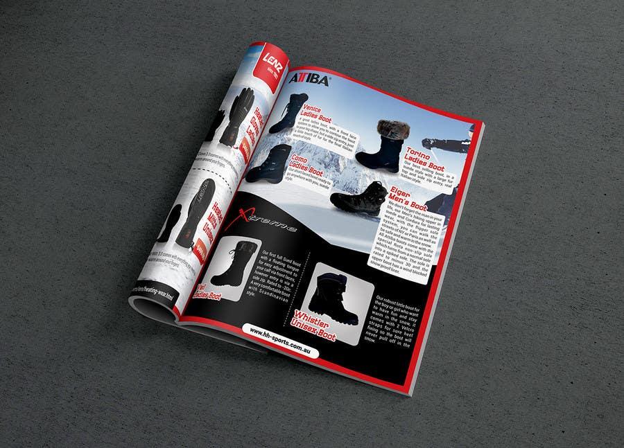 Inscrição nº 78 do Concurso para Design 3 pages of magazine ads