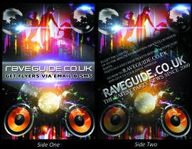 #4 untuk Need a talented artist to design a flyer for a rave / clubbing website oleh luvephoto