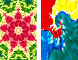 nº 8 pour Tye Dye Designs - Recreate from Low-Res Art par codefive
