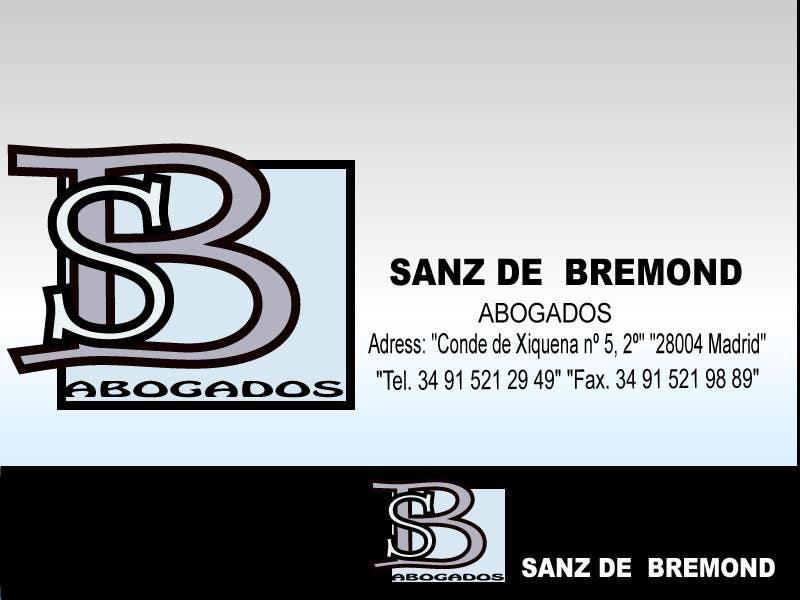 Contest Entry #                                        268                                      for                                         Logo Design for SANZ DE BREMOND ABOGADOS