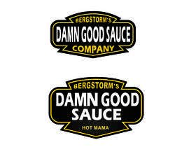 #112 cho Design a Logo for Damn Good Sauce bởi advway
