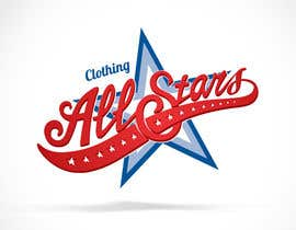 "nº 24 pour Remake this logo in high quality but make it say ""Clothing All Stars"" Not ""All Star"" par Odaisu"