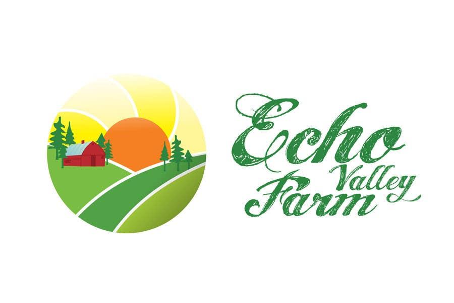Inscrição nº 458 do Concurso para Logo Design for Echo Valley Farm