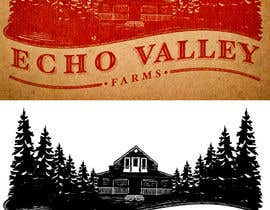 #500 untuk Logo Design for Echo Valley Farm oleh pressdsgn