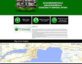 #2 untuk Create a mock up design for our tv recycling website. oleh slaviktim
