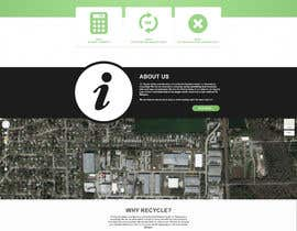 Nro 3 kilpailuun Create a mock up design for our tv recycling website. käyttäjältä implcit