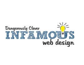 #209 for Logo Design for infamous web design: Dangerously Clever by ulogo