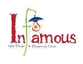 #162 para Logo Design for infamous web design: Dangerously Clever por harjeetminhas