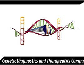 #32 pentru Logo Design for Genetic Diagnostics and Therapeutics Compay de către elgopi