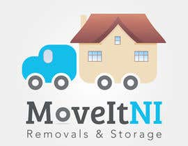#7 para Design a Logo for MoveitNI por kamikira