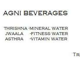 nº 33 pour Suggest a Brand Name for New Premium Bottled/Mineral Water Brand par Govinds101