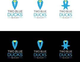 #28 cho Design a Logo for two blue ducks bar and grill bởi SebastianGM