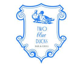 #25 for Design a Logo for two blue ducks bar and grill by Laraell
