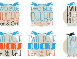 #24 for Design a Logo for two blue ducks bar and grill by zitabanyai