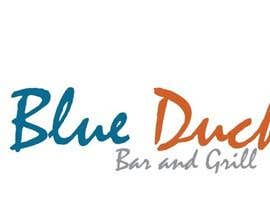 #15 for Design a Logo for two blue ducks bar and grill by donajolote