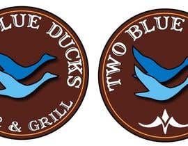 nº 21 pour Design a Logo for two blue ducks bar and grill par Pedro1973
