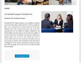 nº 4 pour Attorney Website Stockton CA contest par lauranl
