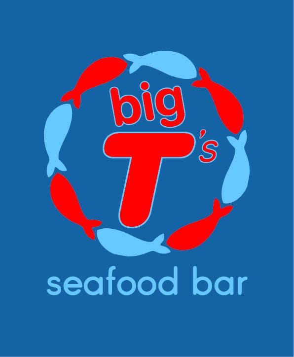 Kilpailutyö #4 kilpailussa Design a T-Shirt for Big T's Seafood
