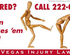 hoch2wo tarafından Design a billboard for Injury Attorney Eric Posin için no 115
