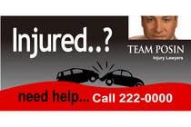 Bài tham dự #107 về Graphic Design cho cuộc thi Design a billboard for Injury Attorney Eric Posin