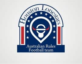 #198 for Logo Design for Houston Lonestars Australian Rules Football team af dyv
