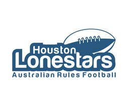 #185 untuk Logo Design for Houston Lonestars Australian Rules Football team oleh ulogo