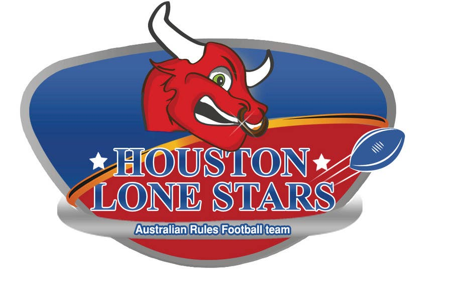 Contest Entry #                                        204                                      for                                         Logo Design for Houston Lonestars Australian Rules Football team