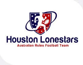 #164 untuk Logo Design for Houston Lonestars Australian Rules Football team oleh e2developer
