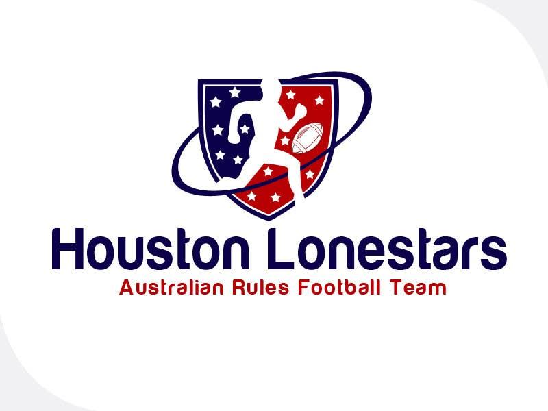 Contest Entry #                                        161                                      for                                         Logo Design for Houston Lonestars Australian Rules Football team