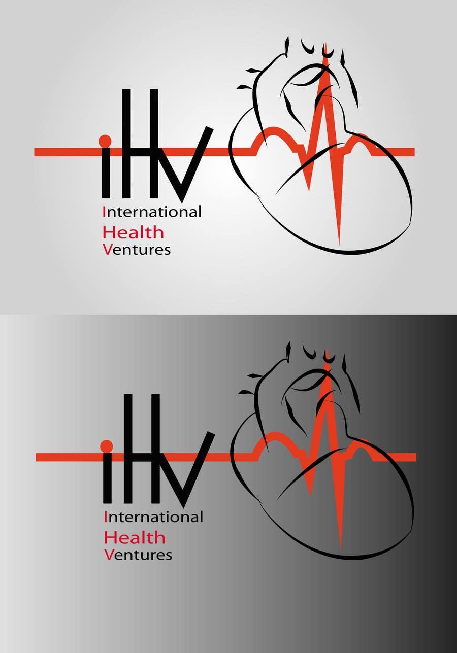 Inscrição nº 87 do Concurso para Graphic Design for International Health Ventures (ihv)