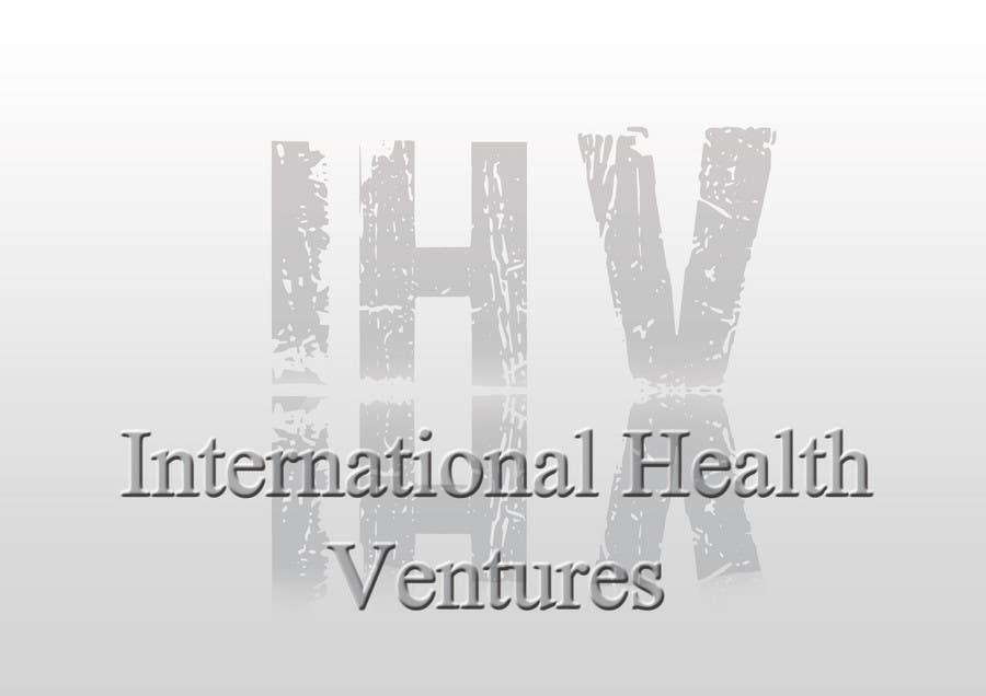 Inscrição nº 120 do Concurso para Graphic Design for International Health Ventures (ihv)